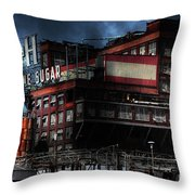 Once Upon A Time In The Sleepy Town Of Crockett California . 5d16760 Throw Pillow