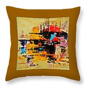 Once Upon A Time In The West Throw Pillow