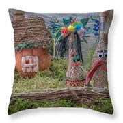 Once Upon A Time In Ukraine  Throw Pillow