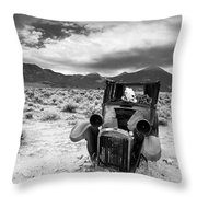 Once Upon A Time There Was A Cow... Throw Pillow