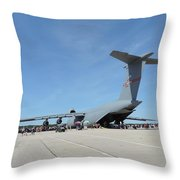 One Big Bird Throw Pillow