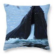 One Big Gulp Throw Pillow