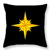 One Brite And Shining Star Throw Pillow