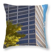 One Broadway Cambridge Ma Kendall Square Throw Pillow