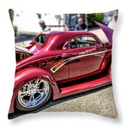 One Cool Car Throw Pillow