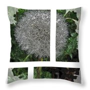 One Dandy Lion 2 Throw Pillow