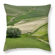 Parko Nazionale Dei Monti Sibillini, Italy 8 Throw Pillow