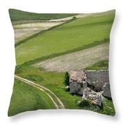 Parko Nazionale Dei Monti Sibillini, Italy 10 Throw Pillow