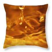 One Drop In The Puddle Throw Pillow