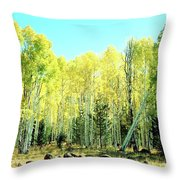 One Drunk Tree Throw Pillow