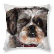 One Eyed Joe Throw Pillow