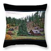 One Fall Day Throw Pillow