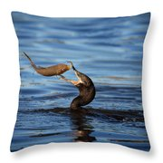 One Final Glance Throw Pillow
