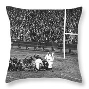 One For The Gipper Throw Pillow
