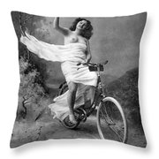 One For The Road, C1900 Throw Pillow