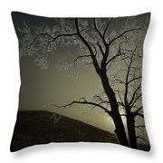 One Frosty Morning Throw Pillow