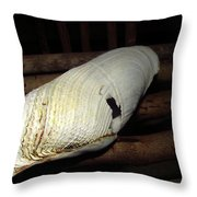 One Happy Clam Throw Pillow