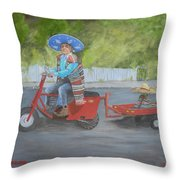 One Harry Ride Throw Pillow
