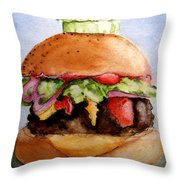 One Hearty Meal Throw Pillow