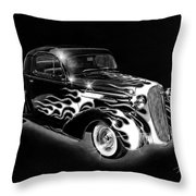 One Hot 1936 Chevrolet Coupe Throw Pillow