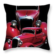 One Hot 33 Throw Pillow