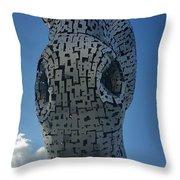 One Kelpie Throw Pillow