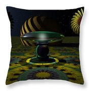 One Last Dream Before Dawn Throw Pillow