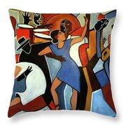 One Last Tango Throw Pillow