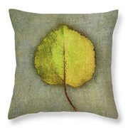 One Leaf Beauty Throw Pillow