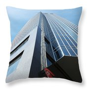 One London Place 4 Throw Pillow