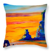 One Lonesome Cowboy Throw Pillow