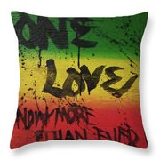One Love, Now More Than Ever By Throw Pillow