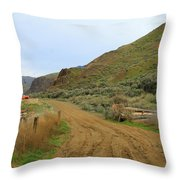 One Man's Junk Throw Pillow
