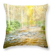One Misty Morning Throw Pillow