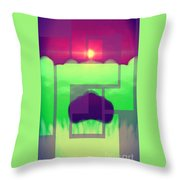 One Moment Captured Throw Pillow