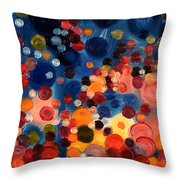 One Moment One Sun Throw Pillow