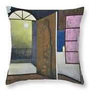 One Moonlit Night- J-16 Throw Pillow