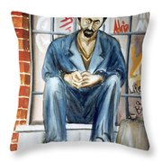 One More Drink Throw Pillow