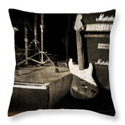 One More Show Throw Pillow