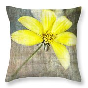One Must Have Sunshine Freedom And A Little Flower Throw Pillow