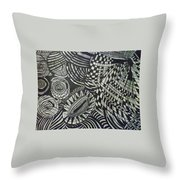 One Nation Throw Pillow