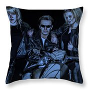 One-non-blond Throw Pillow