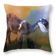 One Of God's Creatures Throw Pillow