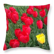 One Of The Bunch Throw Pillow