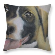 One Of The Lucky Ones Throw Pillow