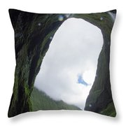 One Of The Wettest Spots On Eart Throw Pillow