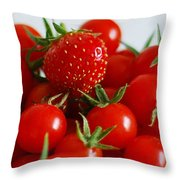 One Of These Things Is Not Like The Other Throw Pillow by Lisa Phillips