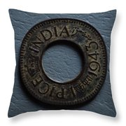 One Pice British India Throw Pillow