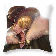 One Piece Throw Pillow