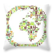 One Planet Throw Pillow